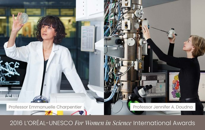 Nagroda Nobla dla dwóch laureatek programu L'Oréal-UNESCO For Women in Science Awards
